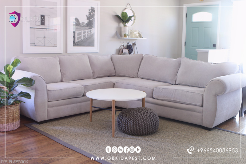 The best way to clean the sofa - Natural and safe ways to get rid of hard spots, dirt and dust