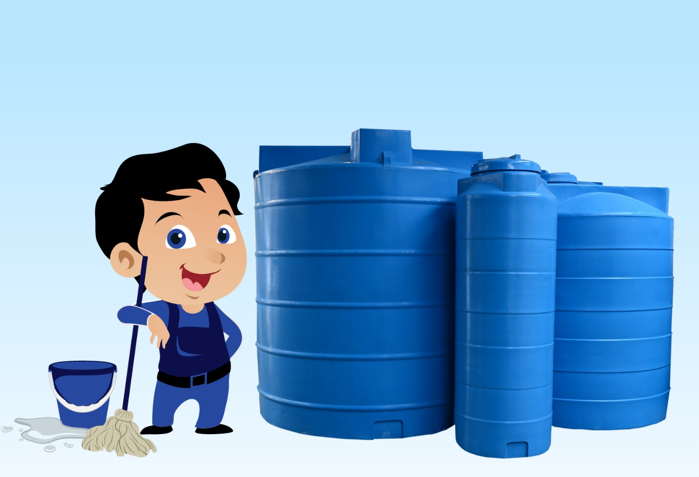 water tank maintenance company in Jeddah