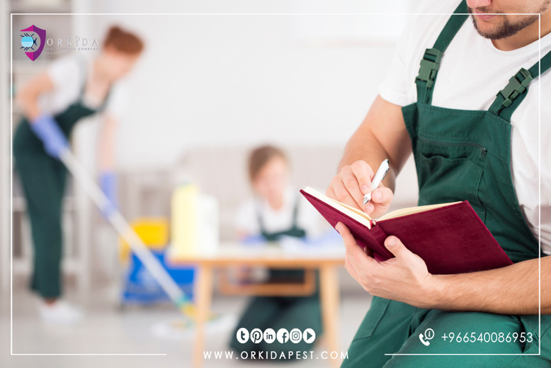 Cleaning company in Jeddah