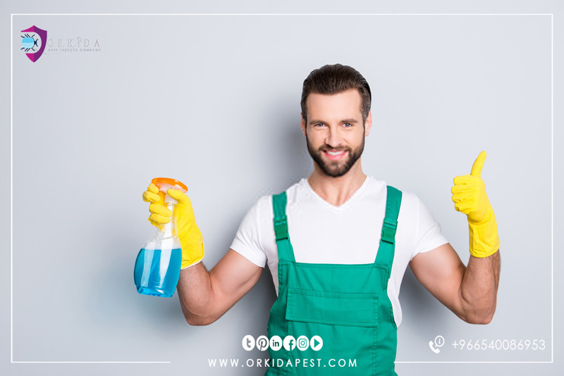 Apartment cleaning company in Jeddah